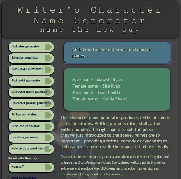 5-character-name-generator